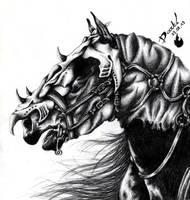 Nazgul Horse by Yu-Ominae666