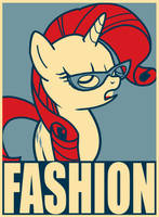 Poster - Rarity Fashion by SemonX
