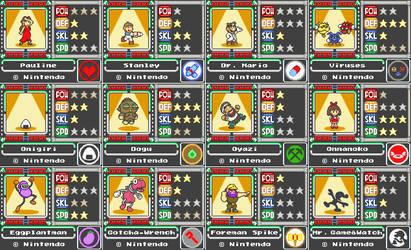 Mario Card Series 2-2 by koopaul