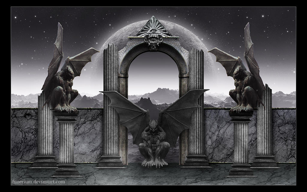 Cast in stone III by Funerium