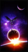 Interstellar death VIII by Funerium