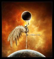 Interstellar death XIV by Funerium