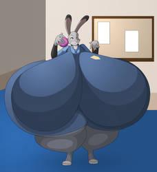 Mega Hourglass Judy Hopps by RickyDemont