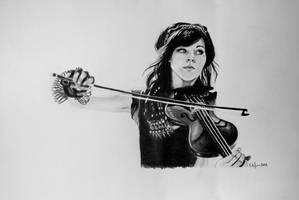 Lindsey Stirling by MyOpenSketchbook