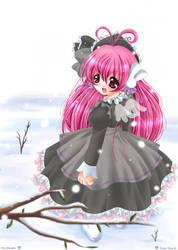 Misha - the angel rabbit by toi-chan