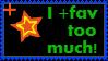 Stamp: I'm a +fav bomber! by Username-91