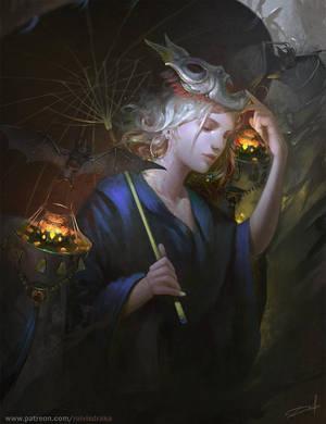 Witch by Raivis-Draka