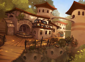 The Teahouse by Etoli