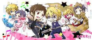 drrr Shizuo and Izaya by moonu17