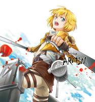 Shingeki no Kyojin -Armin by moonu17