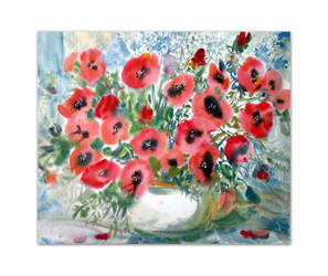 Red Flowers by Ponikarov