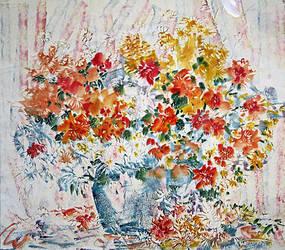 Flowers by Ponikarov