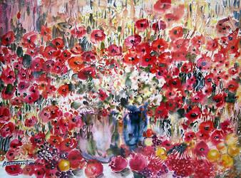 Deep Red by Ponikarov