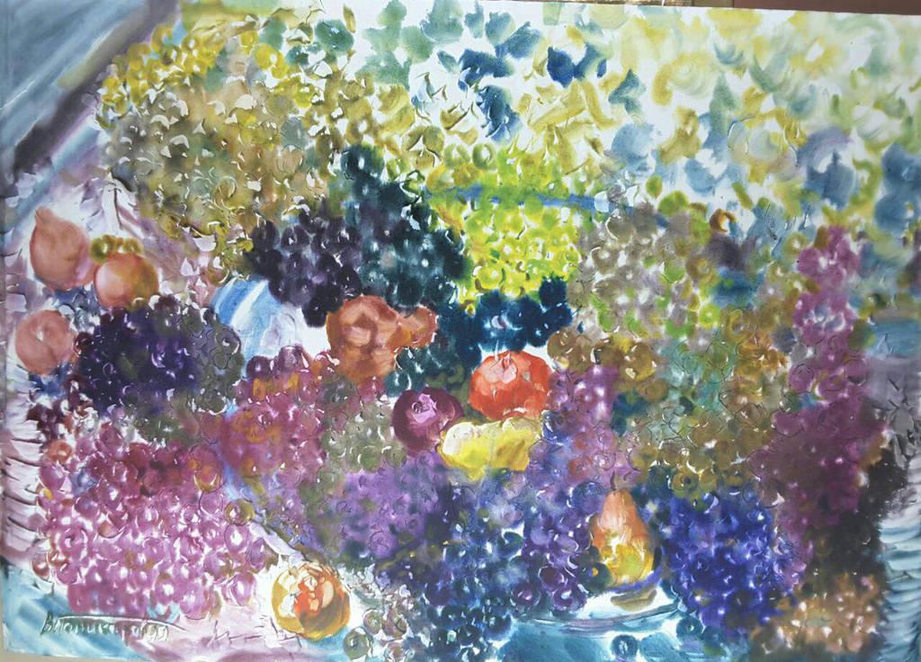 Flowers Fruits by Ponikarov