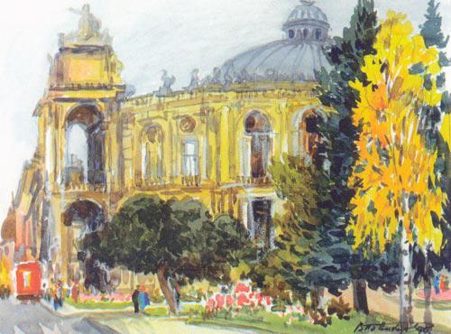 Odessa by Ponikarov