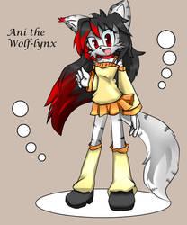 Ani the Wolf-lynx by ShiroStaR
