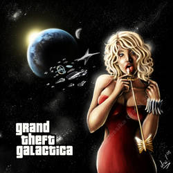 Grand Theft Galactica by VortexQueen