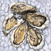 Oyster dinner by DesigningLua