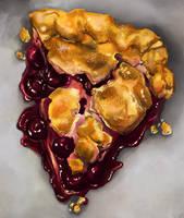 Cherry jam pie by DesigningLua