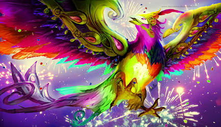 Festival Queen Anivia Colouring by AkiraAlion