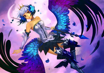 Odin Sphere - Gwendolyn by Derlaine8