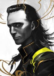Loki'd by Derlaine8