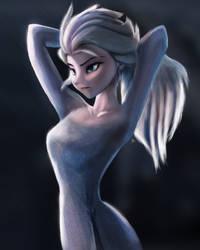 Queen Elsa - Frozen 2 Trailer by frostharmonic