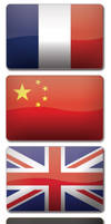 7 Flags of the World 2.0 by wiboArt