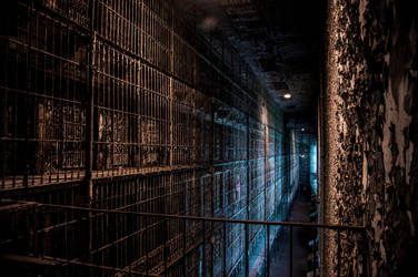 East Wing Prison Cells by Freeformedto