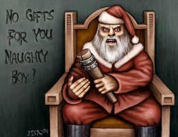 Bad Santa by Astalo