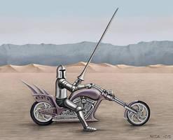 Chopper Warrior by Astalo
