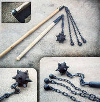 Steel flails by Astalo