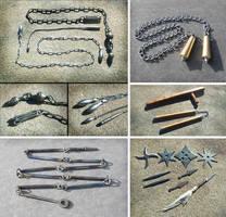 Oriental weapons 1 by Astalo