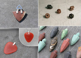 Stone pendants by Astalo