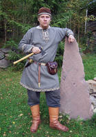 Viking costume 1 by Astalo