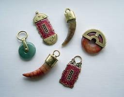 Clockpunk pendants 8 by Astalo