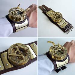 Sundial Wristwatch by Astalo