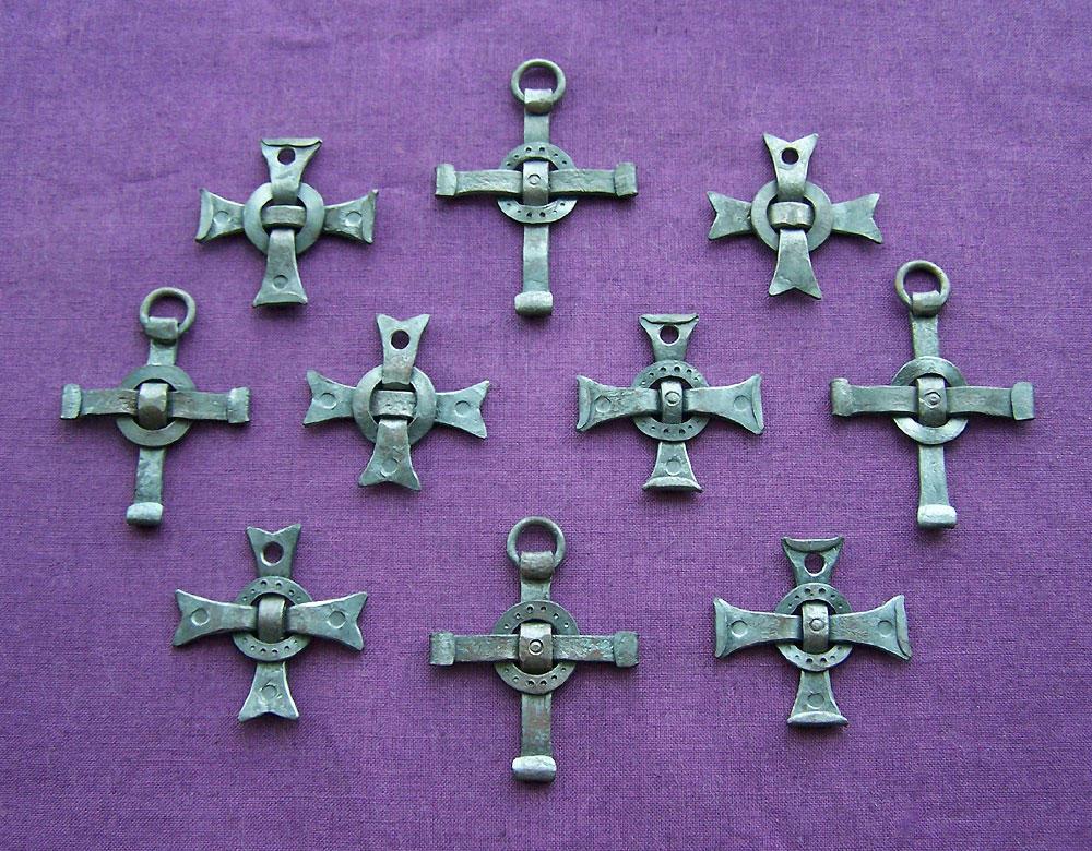 Forged steel pendants 6 by Astalo