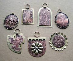 Mixed metal jewelry 3 by Astalo