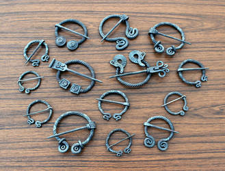 Penannular brooches 5 by Astalo