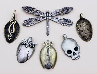 Spoon pendants 4 by Astalo
