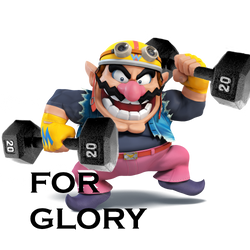 Workout Wario by LosTimeTurner