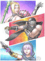 DOATEC FanArt 00: Ninja Gaiden by DRa90NBoi