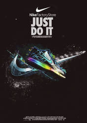 Nike Poster by AH4GFX