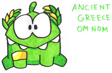 Ancient Greece Om Nom by YouCanDrawIt