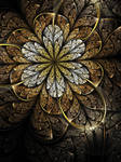 Golden Flower by KeilaNeokow