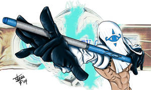 Venom - Guilty Gear XX by archlight0