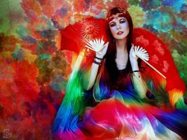 Rainbow Queen by RankaStevic