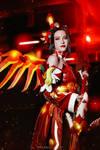Mercy Zhuque by RizzyCosArt