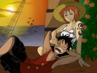 Thank You, Luffy by A----A----A